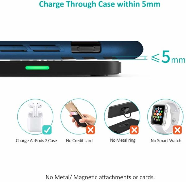 Caricatore Wireless, 10W Fast Wireless Charger