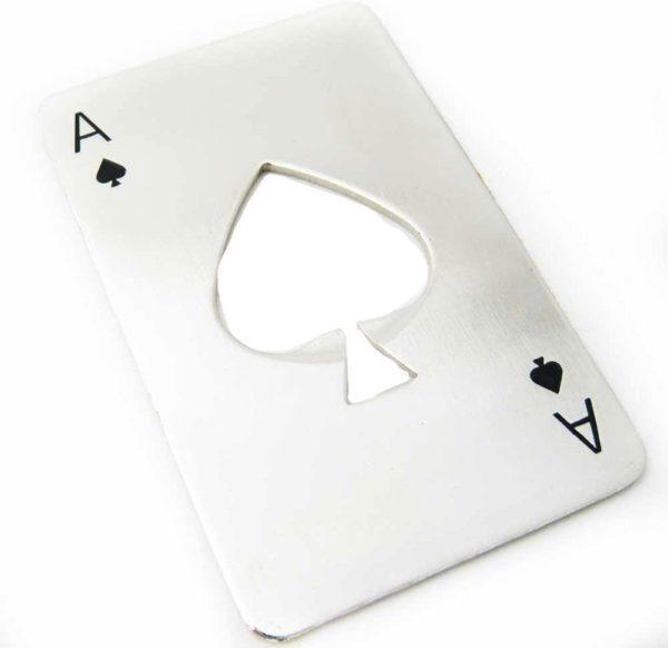 Apribottiglie Poker Asso di Picche