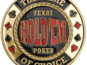Card Protector Texas Hold'Em Poker