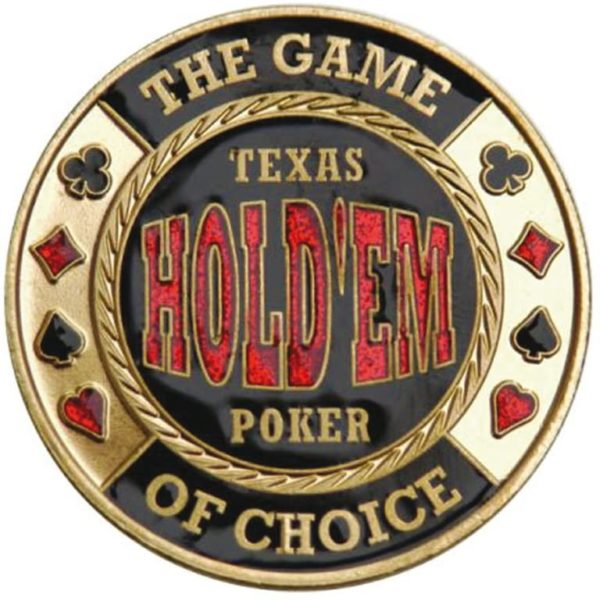Card Protector Texas Hold'Em Poker