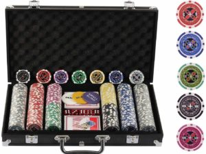 Display4top Super Set da Poker - 300 Chips