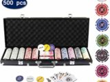 Display4top Super Set da Poker - 500 Chips 1