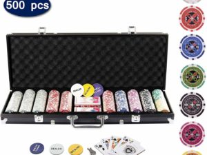 Display4top Super Set da Poker - 500 Chips 1