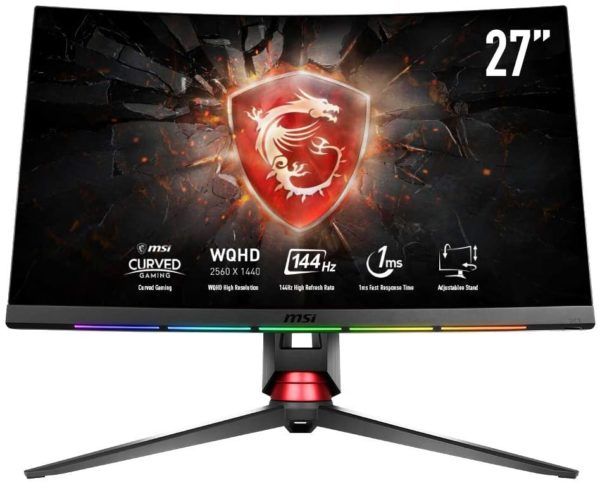 MSI Optix MPG27CQ2 Monitor Gaming 27 Curvo
