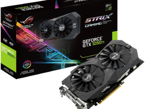 Scheda Grafica Asus GeForce STRIX-GTX1050TI-O4G-GAMING 4GB
