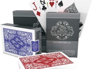 bullets playing cards poker texas hold'em carte da gioco