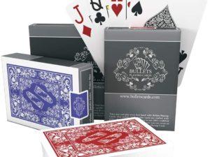 bullets playing cards poker texas hold'em carte da gioco