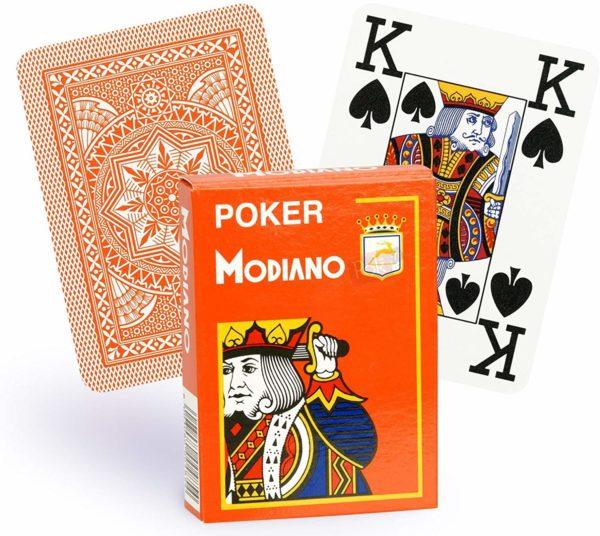 carte modiano jumbo index poker texas hold'em