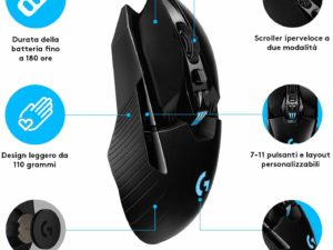 mouse logitech gaming poker