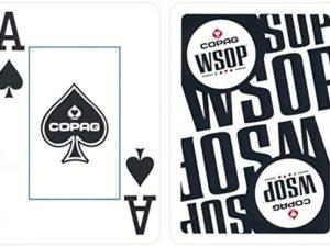 Carte da Gioco Copag WSOP - Dorso Nero