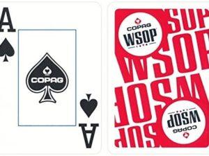 Carte da Gioco Copag WSOP - Dorso Rosso