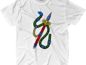 KiarenzaFD T-Shirt Uomo Asso di Spade Carte Napoletane Regalo Originale Divertente
