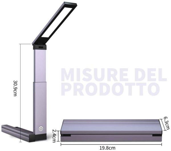 MROTY ITALIA - Lampada da scrivania LED4