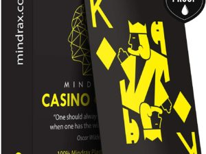 Mindrax Carte da Gioco Premium Carte Professionali da Poker di Design Impermeabili 100%