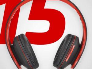 PowerLocus Bluetooth Cuffie Auricolari Pieghevoli, Over Ear 1
