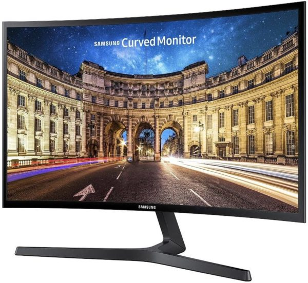 Samsung Monitor C24F396 Curvo, 24'' Full HD