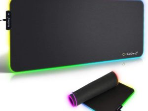 Tappetino Mouse Gaming RGB Effetti Luce XXL