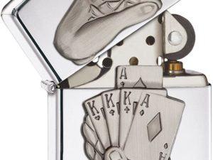 Zippo 28837 Accendino Poker