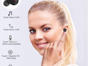 bakibo Auricolari Senza Fili Bluetooth 5.1