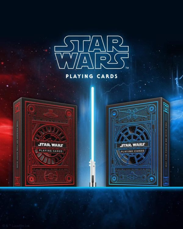 2 mazzi di Carte Star Wars (Red-Blu) Playing Cards by theory11