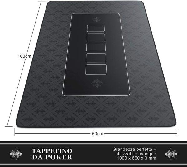 CSL - Tappeto Poker 100 x 60 cm