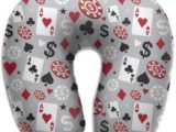 Cuscino da Viaggio Poker Casino - LisaArticles