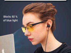 KLIM™ Optics - Occhiali anti Luce Blu Per Gaming PC