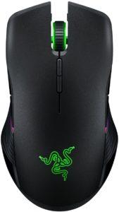 Razer Lancehead Wireless Mouse da Gioco per Mancini e Destrimani senza Fili, ad Alte Prestazioni in Qualità di Gioco, Sensore Ottico Preciso e Tecnologia a Frequenza Adattiva, Grigio