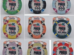 Set fiches in Ceramica WSOP Rio Replica - Pokershop