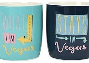 Set of 2 What Happens in Vegas Mugs