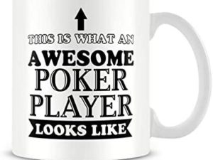 Tazza Awesome poker player