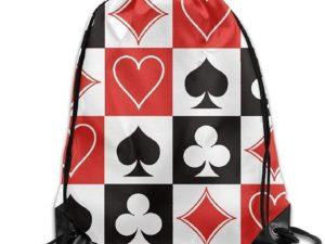 Zaino con coulisse Poker